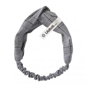 Grey Cross Hair Band