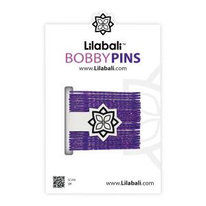 Bobby Pins Sparkly Purple