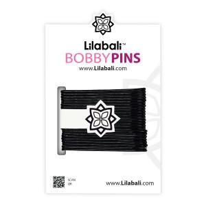 Bobby Pins Black Big