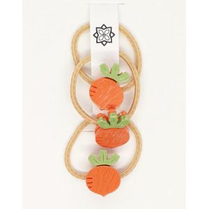 Orange - 3 X Turnip hairband