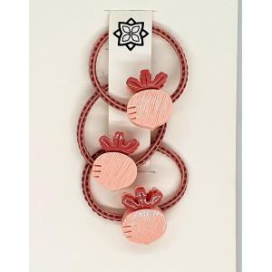 Pink - 3 X Turnip hairband
