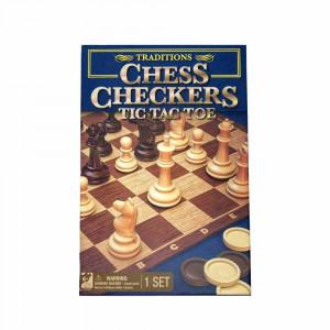 Chess Checkers Tic Tac Toe