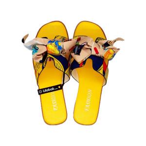 H- Shape Bow Design Yellow...