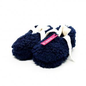 Winter Plush Shoe Blue