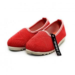 Peach Baby Cinderella Shoe