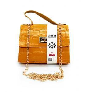 Yellow Mini Cross Body Bag