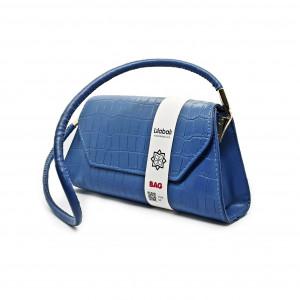 Steel Blue Handbag...