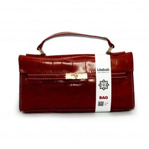 Stone Pattern Soft Handbag