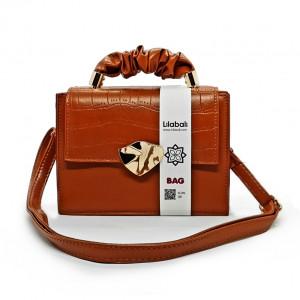 Chocolate Flap Handbag...