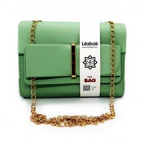 Green Flap Bow Ladies...
