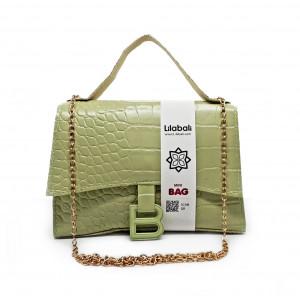 Crocodile Embossed Portable...